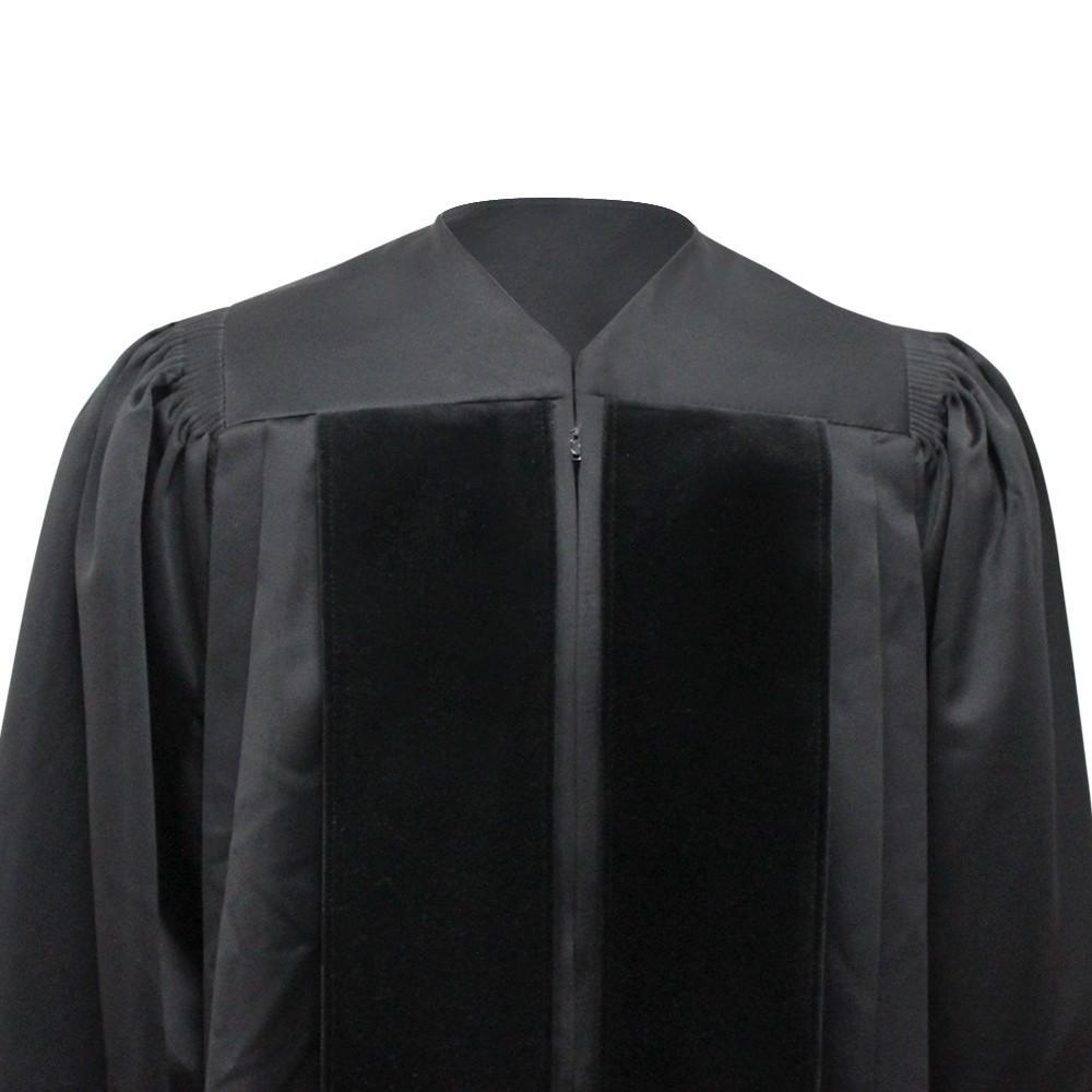 Black Clergy Robe