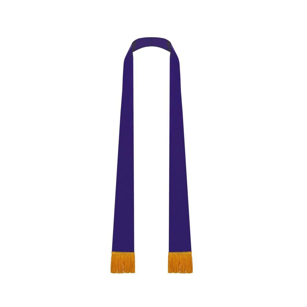 Purple Satin Pulpit Stole