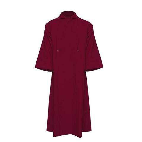 Maroon Clergy Cassock