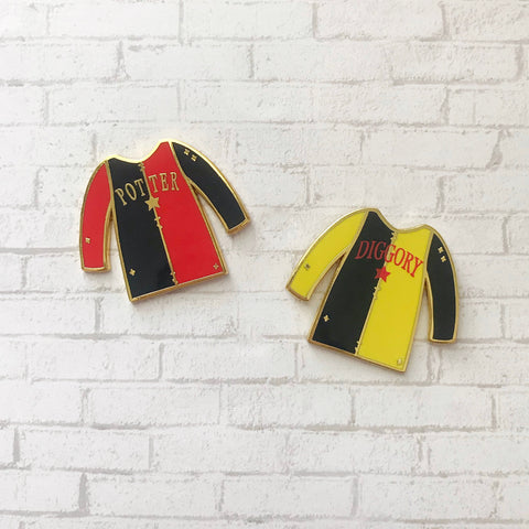 Tournament Jersey Enamel Pins