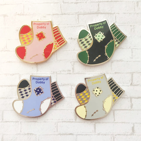 Elf's Sock Collection Enamel Pins