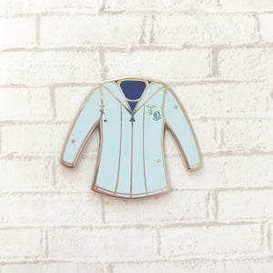French Jersey Enamel Pin
