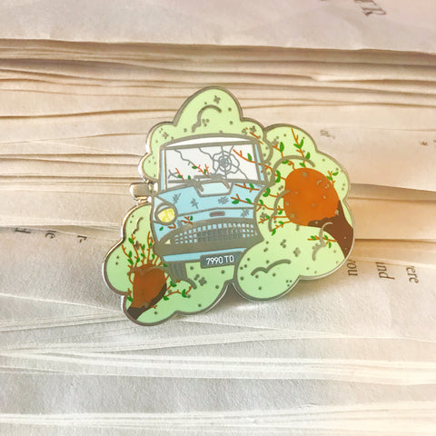 Flying Car Pin-Violent Tree