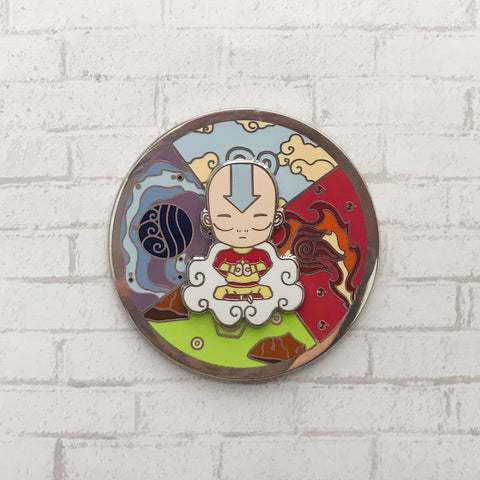 Spinning Aang Pin