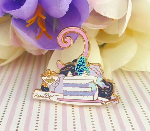 LE Magical Wedding Enamel Pin