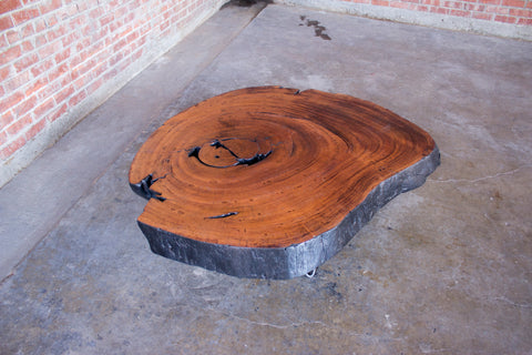 All Live Edge Pieces Are One Of A Kind, But This Coffee Table Is Truly  Special. This Custom Live Edge Coffee Table Will Be A Conversation Starter  For Years ...