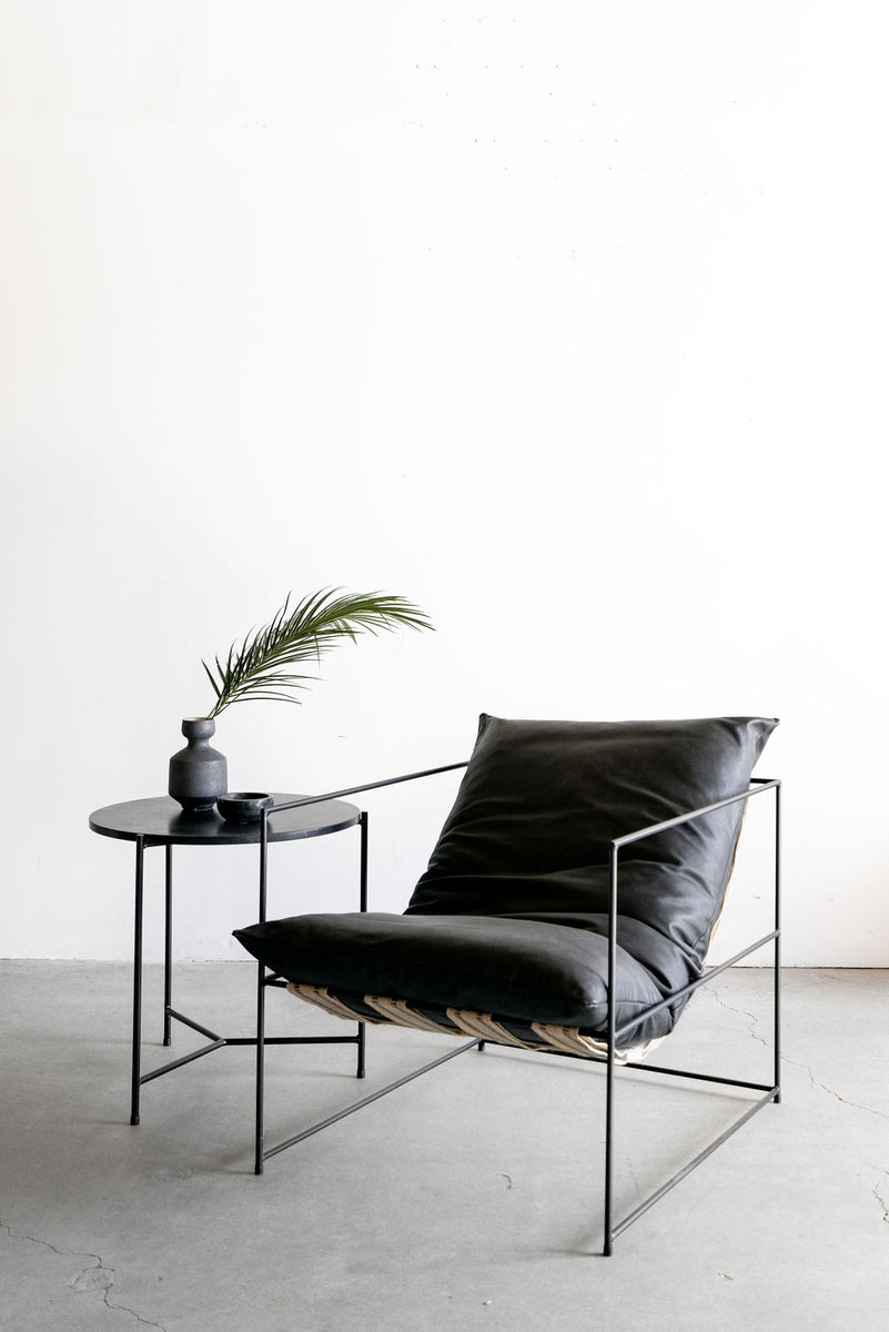 Leather Sierra Chair (BLK)