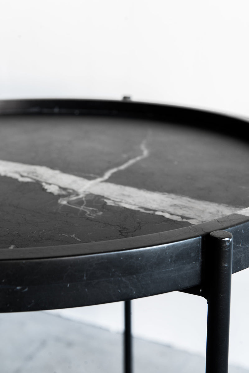 Marquina Side Table