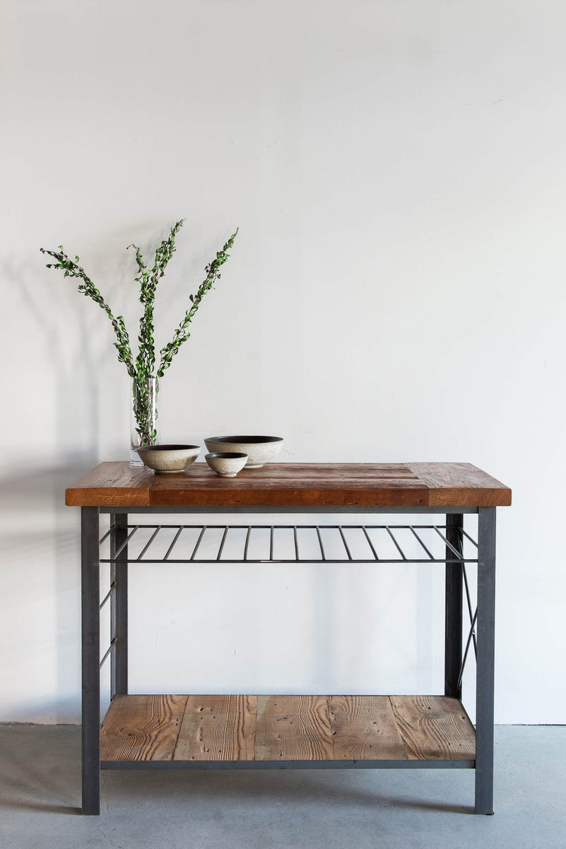 Railcar Kitchen Island