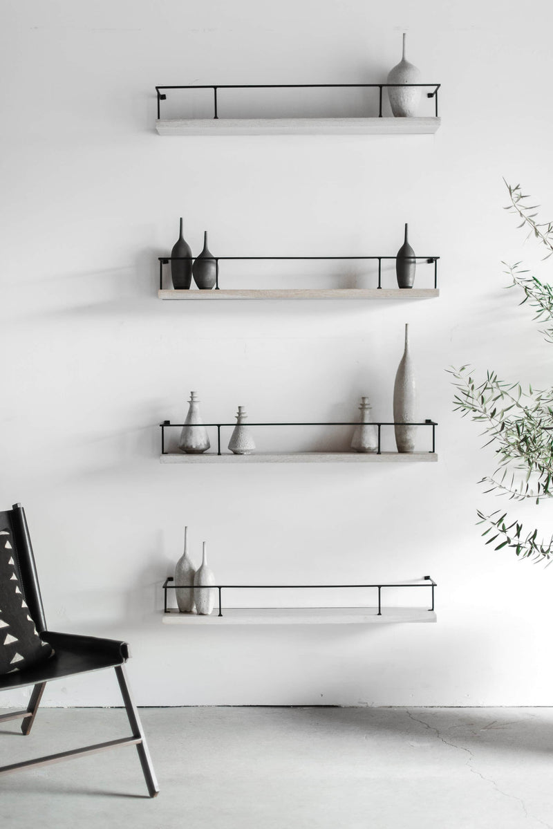 shelf products display three use brass picture inch by