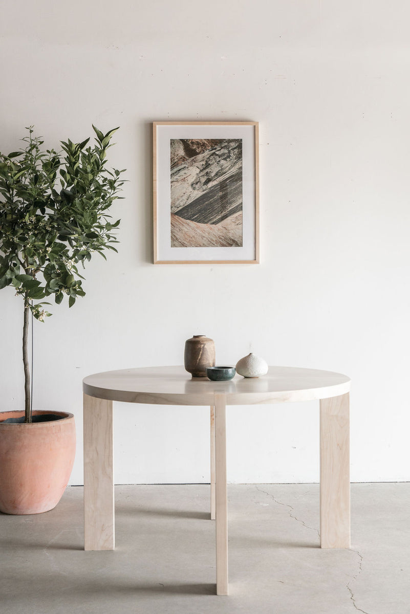 Eve Dining Table (Maple)