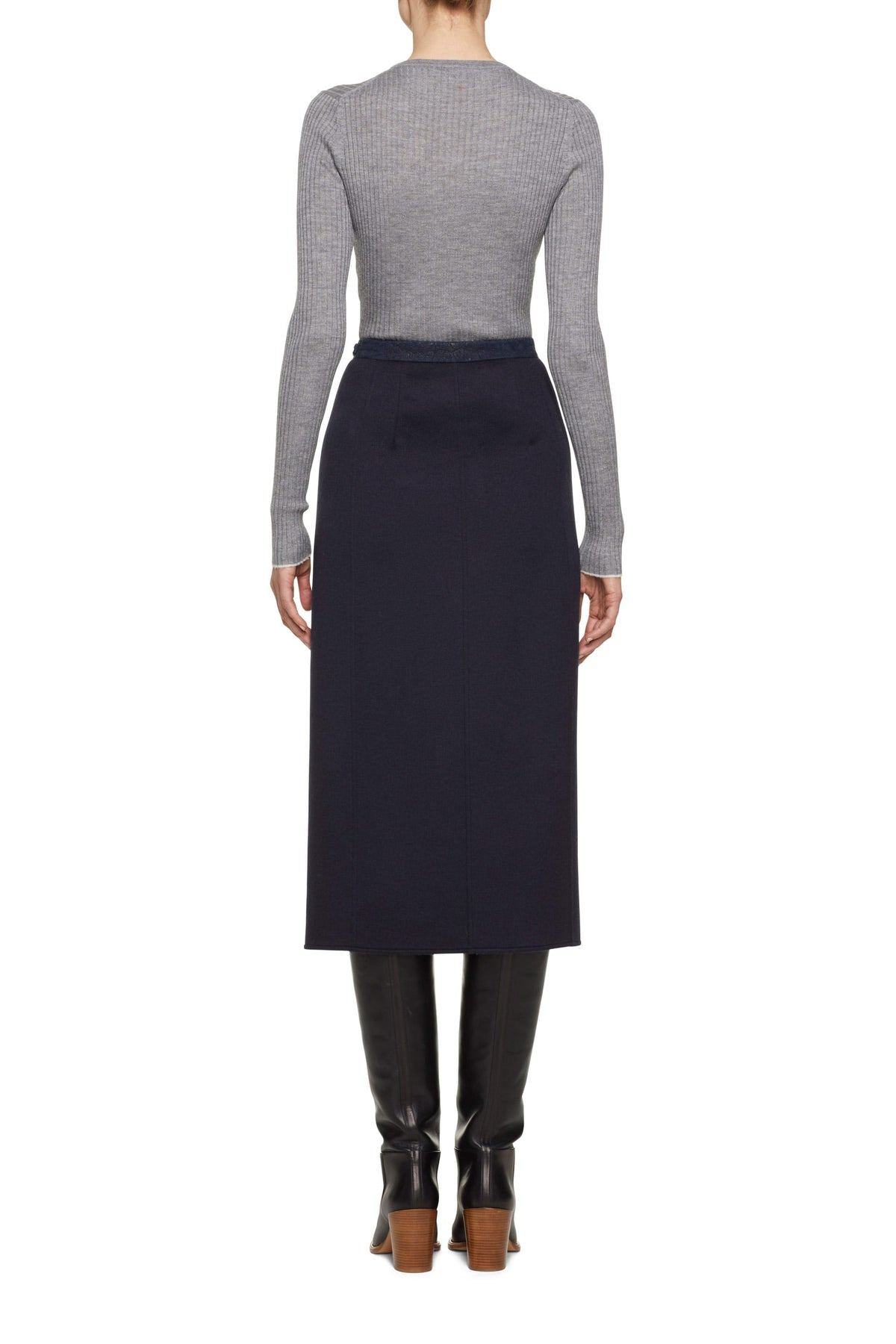 Nina Wrap Skirt With Crocodile