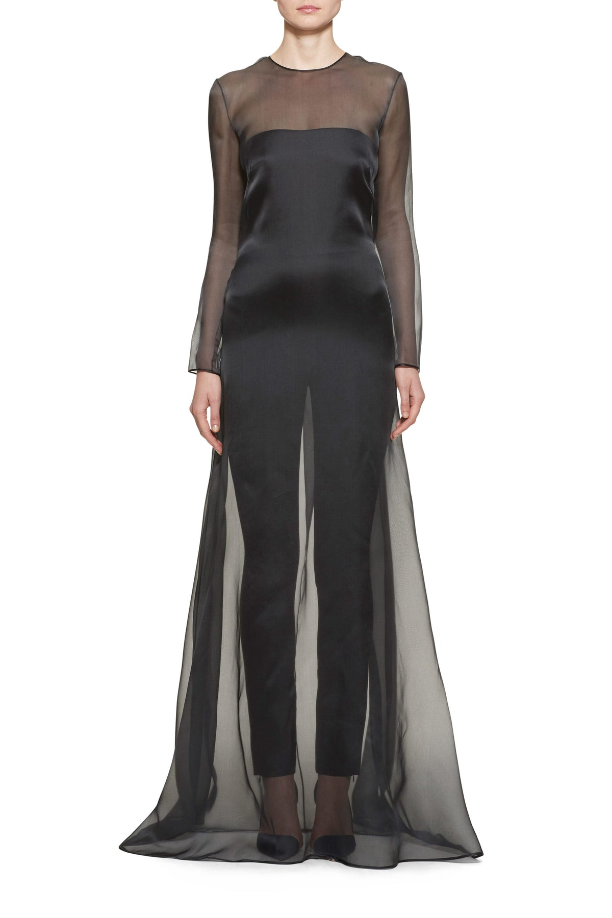 Ulanova Jumpsuit With Organza Overlay