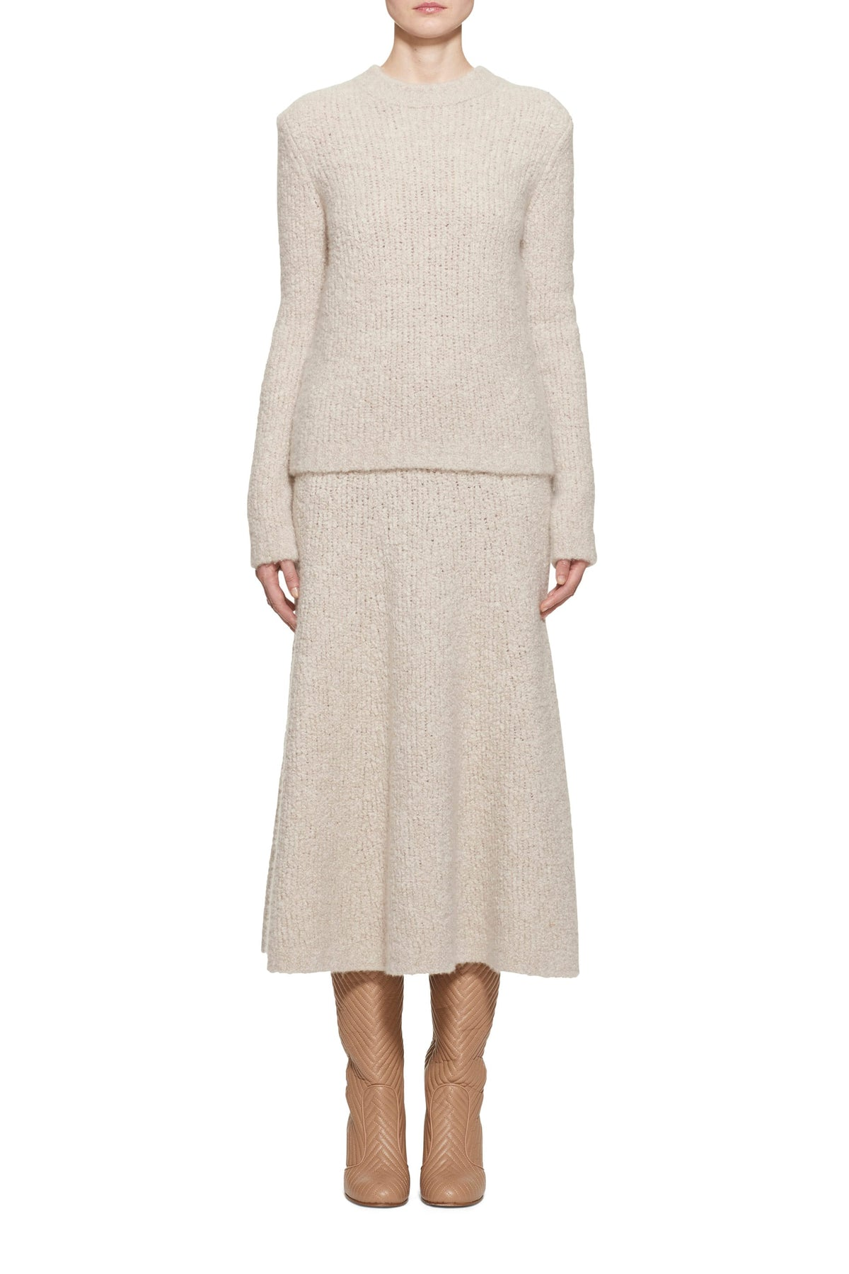 Philippe Cashmere Boucle Sweater