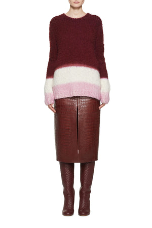 Lawrence Dip Dye Sweater