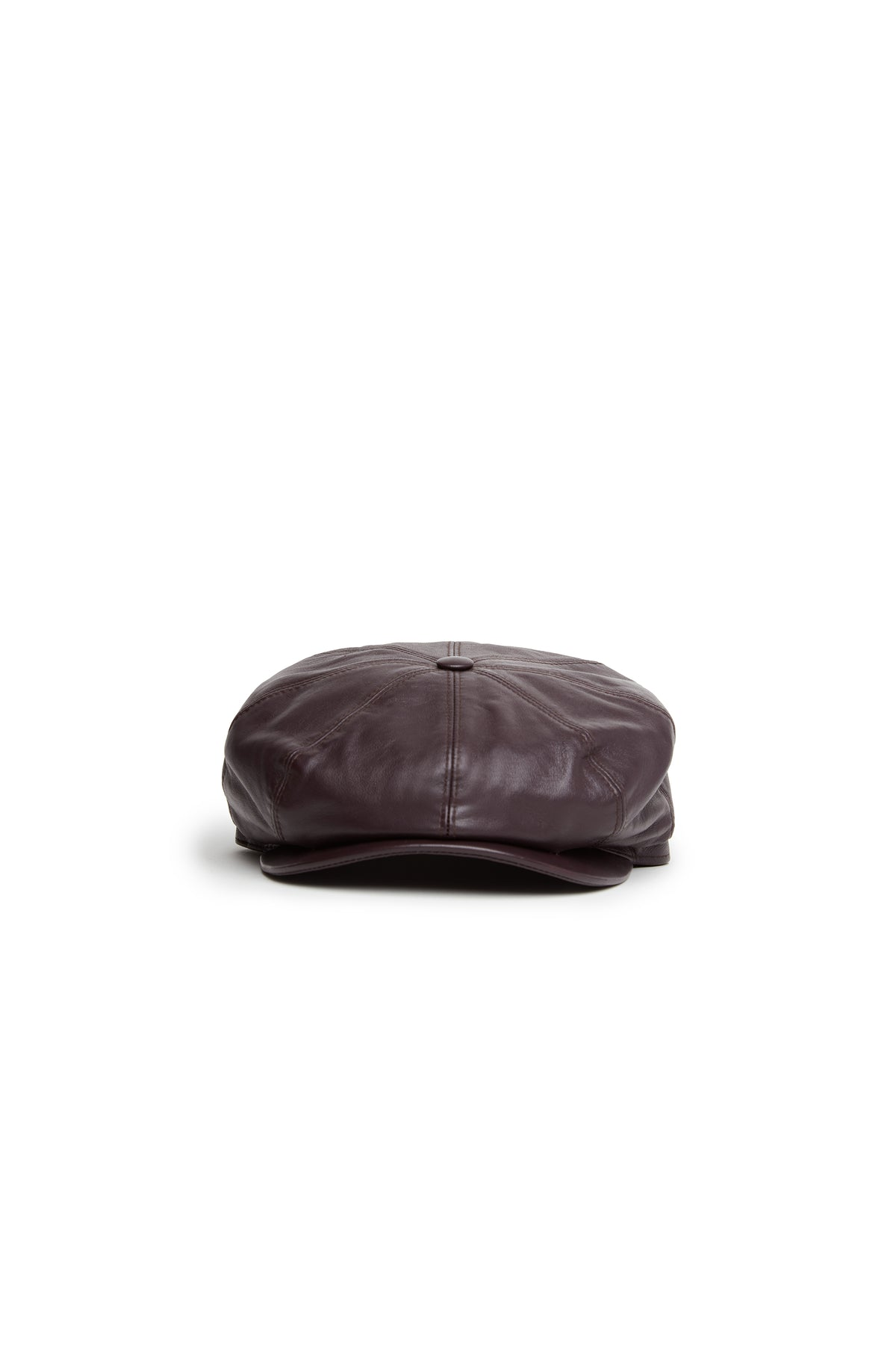 Tremelo Leather Newsboy Cap