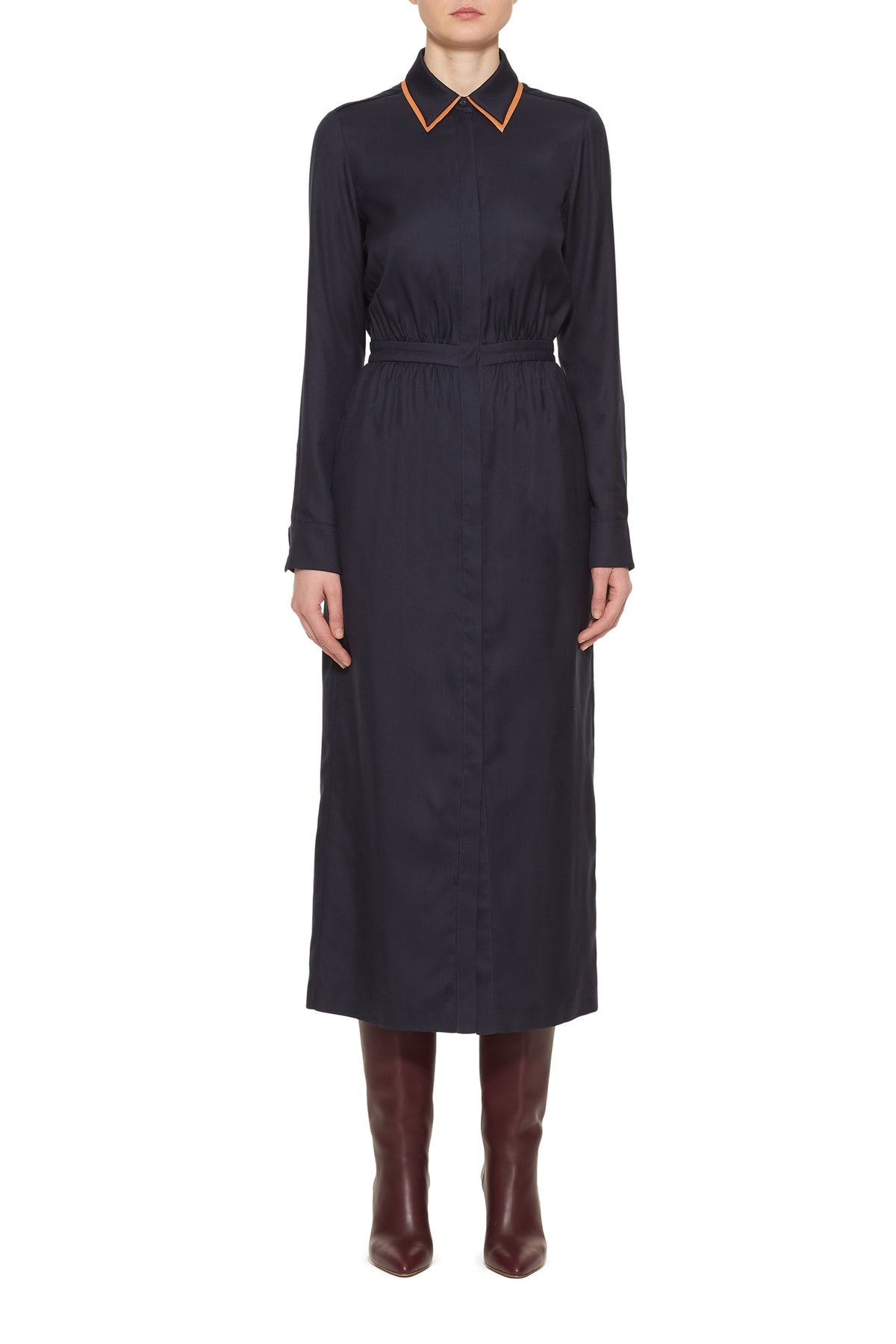 Lowell Double Collar Dress