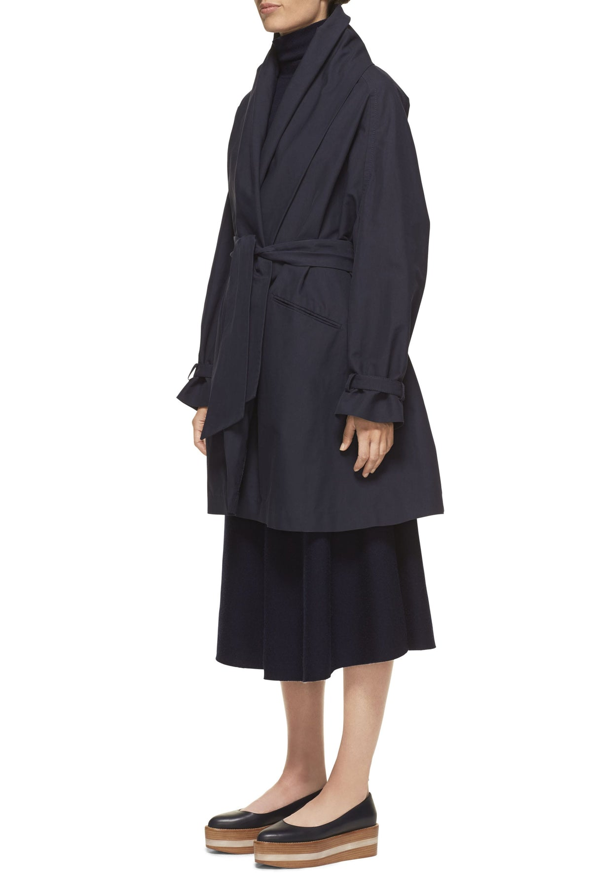 Audley Draped Jacket