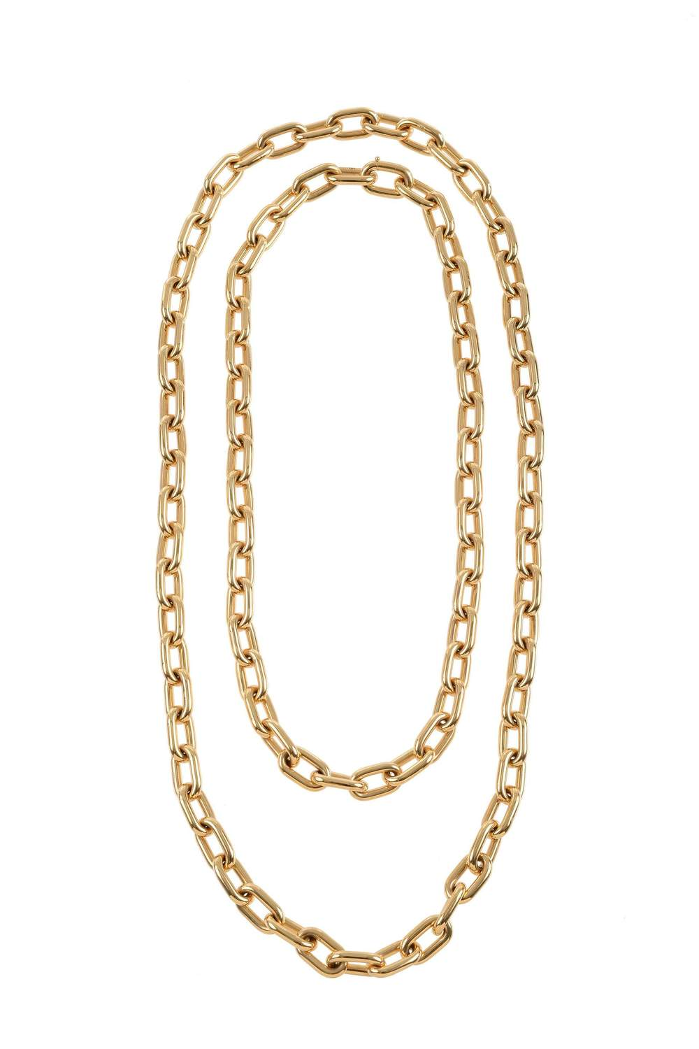 Medium Chain 18k Gold