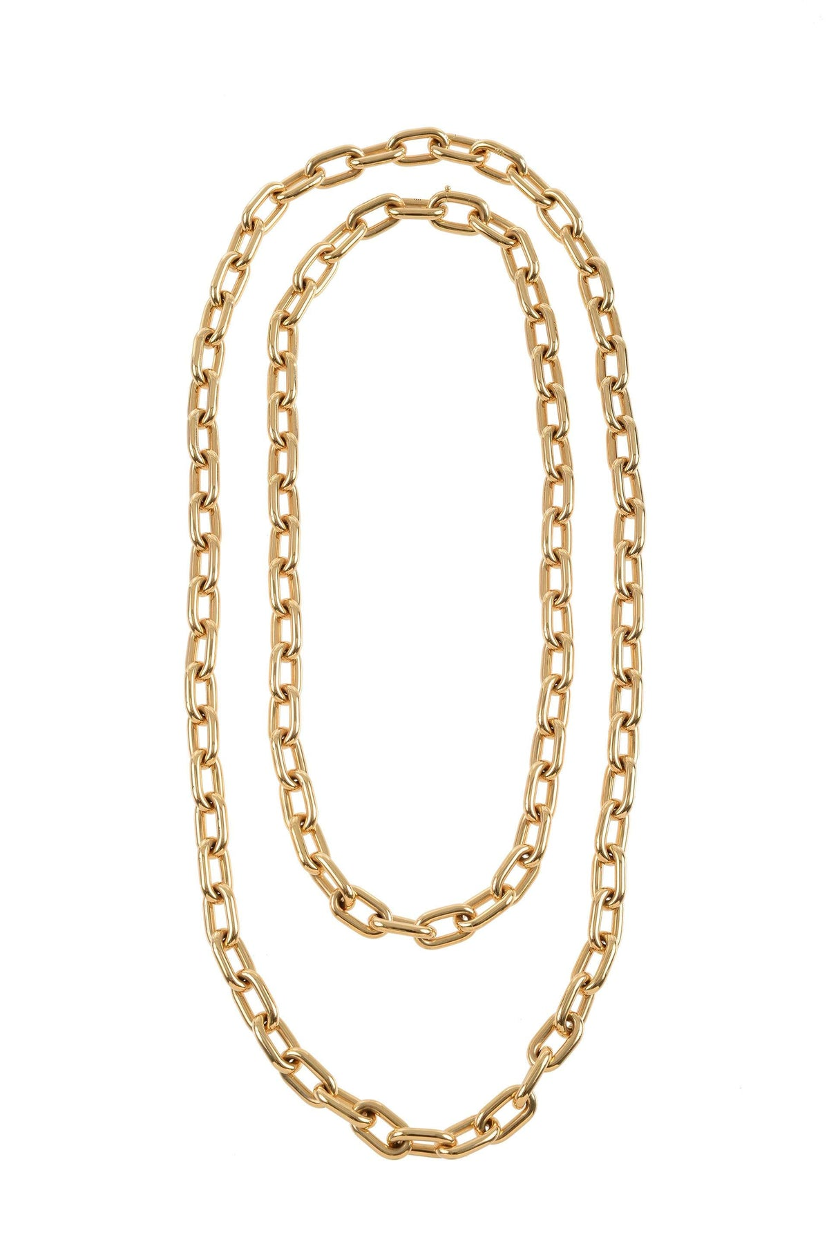 Long Chain 18k Gold