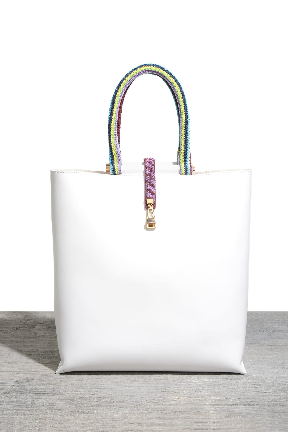 Vevers Tote with Crocheted Handle