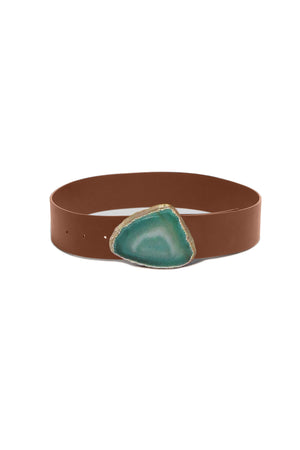 Wide Agate Belt
