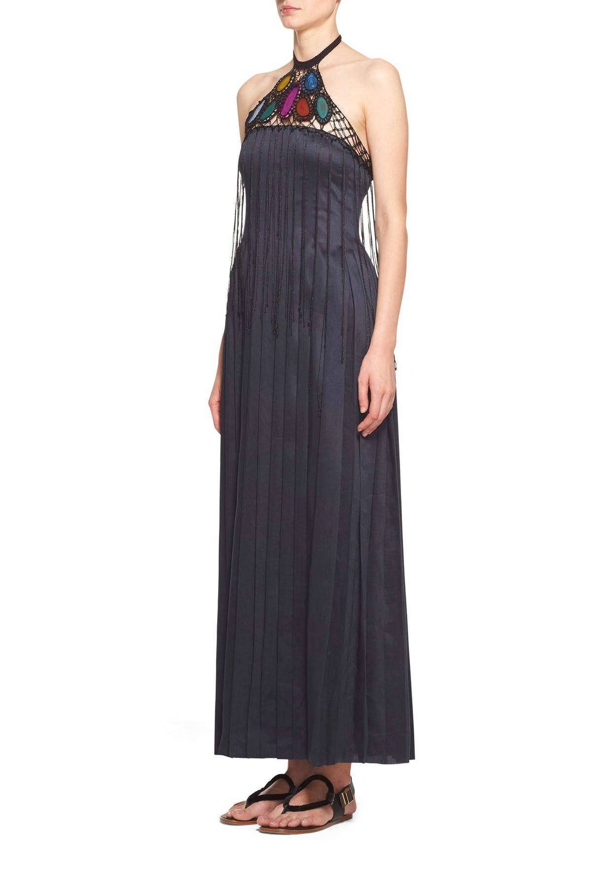 Zeus Pleated Gown