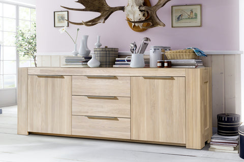 eco-friendly natural oak solid wood furniture