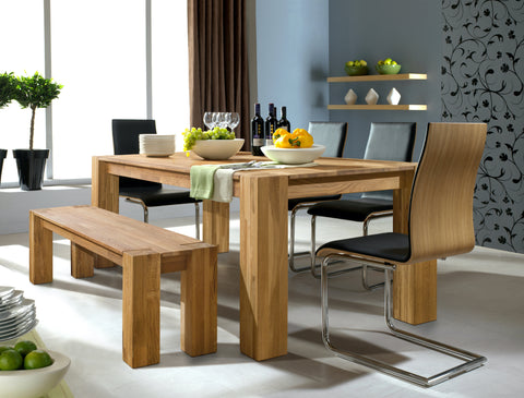 Solid wood natural oak modern Scandinavian Nordic design