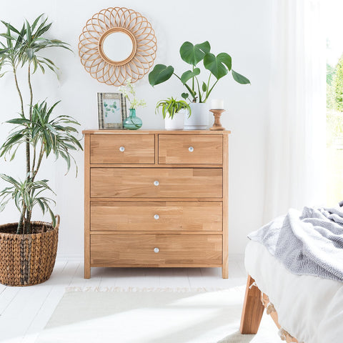 comfortable oak wood sideboard