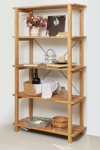 solid wood shelf