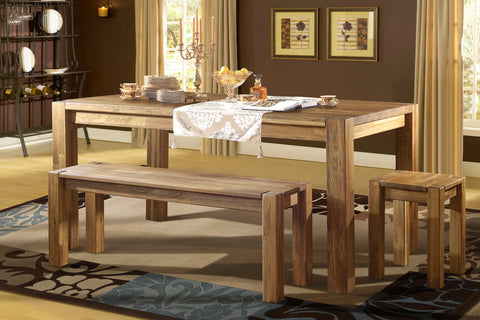 Solid Wood Table Style Provide Rustic