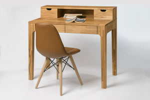 Table desk living room office solid wood scandinavian oak