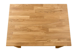 Nordic dining table solid wood oak