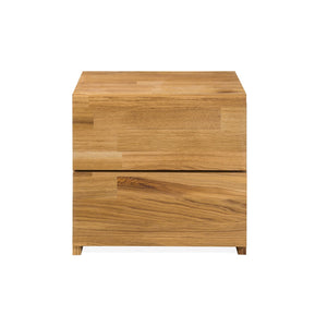 Nightstand Side table solid wood Nordic natural oak
