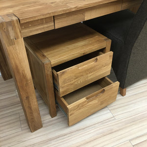 "NordicStory Solid oak bedside table ""Niels"" 48 x 38 x 48 cm."