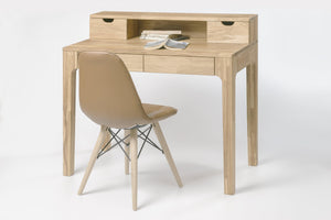 Nordic oak solid wood desk table