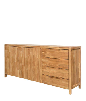 NordicStory Chest of drawers in solid oak wood