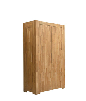 NordicStory Solid oak wood wardrobe