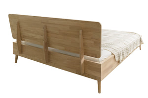 NordicStory Solid wood bed oak nordic bedroom