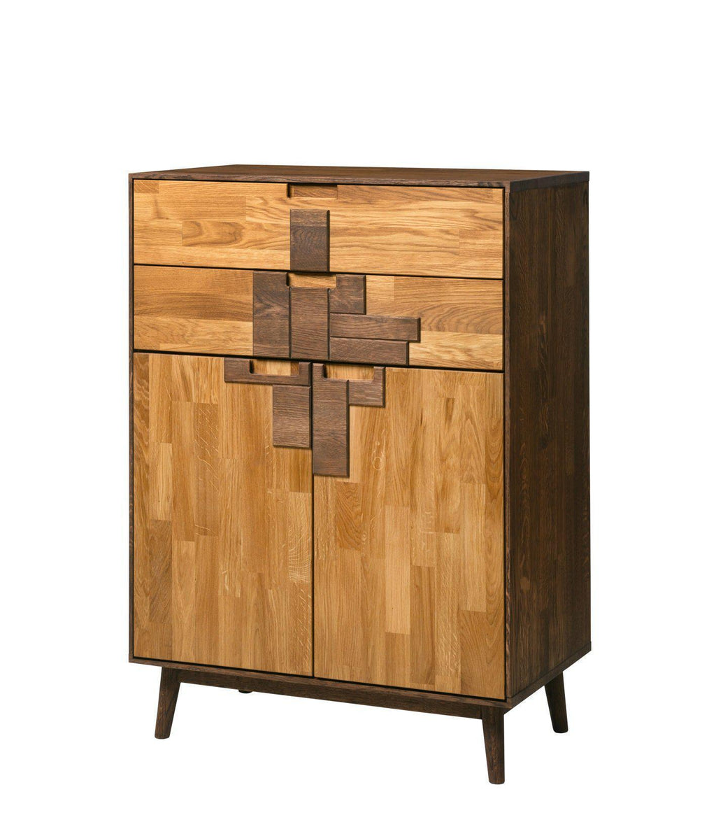 NordicStory Sinfonier Solid Oak Chest of Drawers