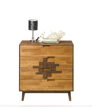 NordicStory Chest of drawers in solid oak