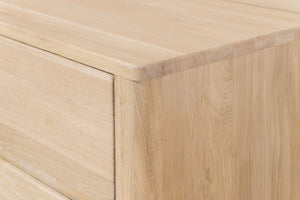 NordicStory Elsa Sideboard Comoda Solid wood chest of drawers Scandinavian oak
