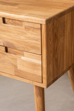 NordicStory Solid oak desk table Scandinavian Nordic furniture