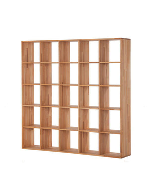 NordicStory Bookcase Solid oak wood bookcase