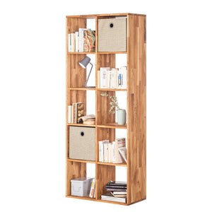 NordicStory Solid Wood Oak Bookcase Nordico