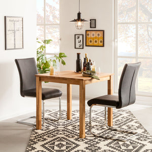 NordicStory Solid Oak Lemsiwood Dining Table