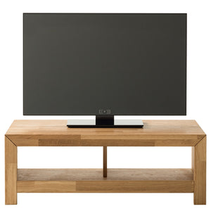 NordicStory Solid oak wood TV cabinet