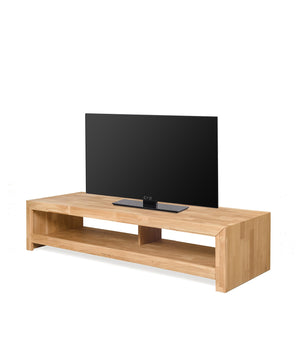 Products NordicStory Solid Oak Wood TV Cabinet