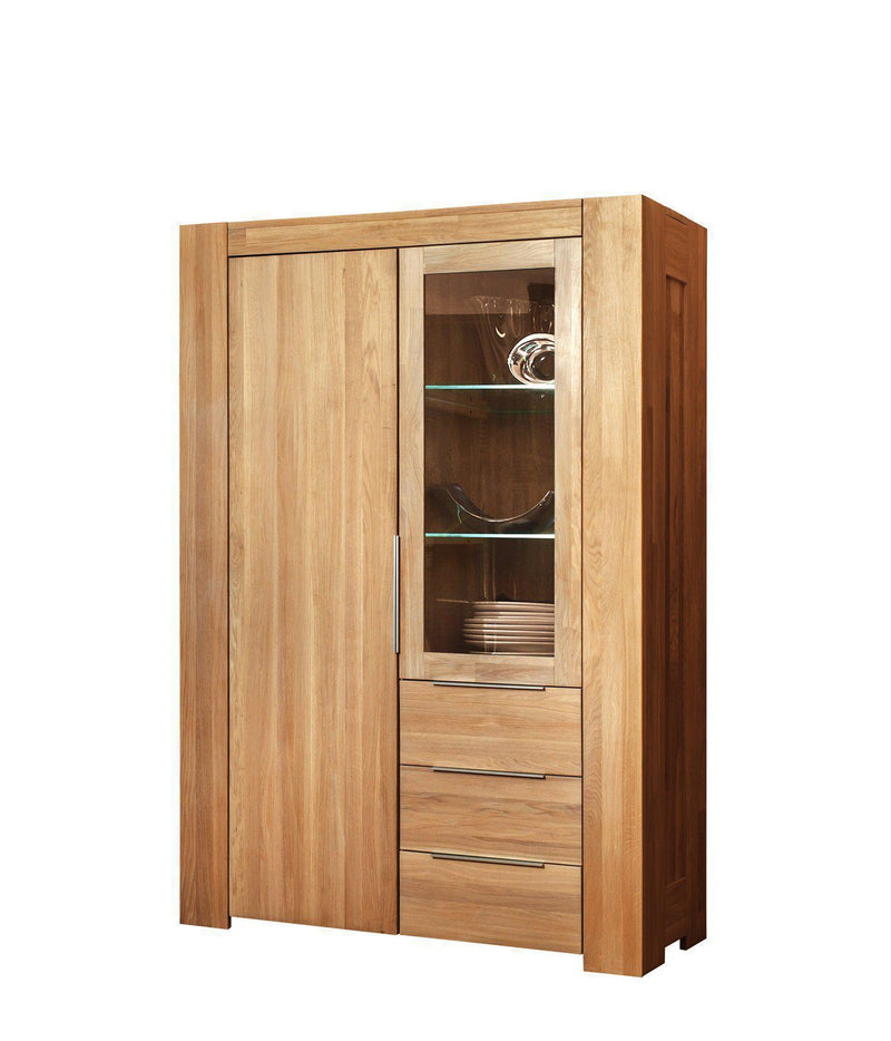 NordicStory Mueble Mesa Aparador Maciza Roble Natural Salon Nordico Escandinavo